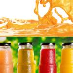 Bottling juice hot filling and cold filling