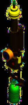 SC gravity filling valve